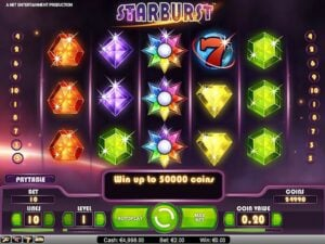 Starburst is one of the most popular online casino games around the world