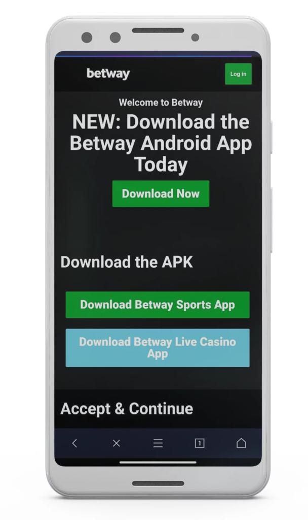 Betway App Download Image